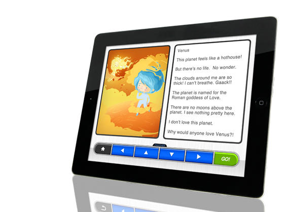 Story Box on an Ipad